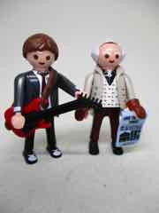 Playmobil Back to the Future Marty McFly and Dr. Emmett Brown Figures