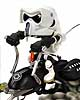 Star Wars Kustomz Scout Trooper on Speeder Bike