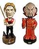 Flash Gordon The Movie Flash & Ming Bobble Heads Bundle