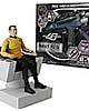 Star Trek Captain Kirk Action Figure & Classic Phaser Bundle