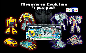 Megaverse Evolution