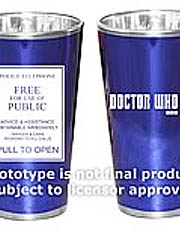 Doctor Who Glassware