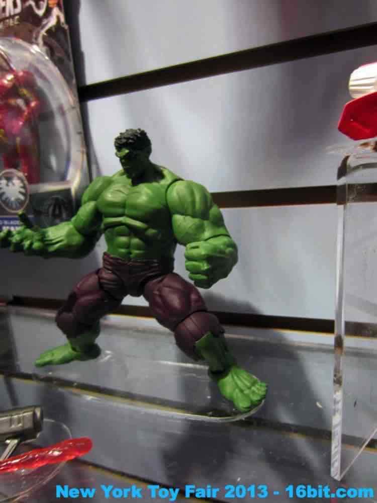 16bit Com Toy Fair Coverage Of Avengers Action Figures