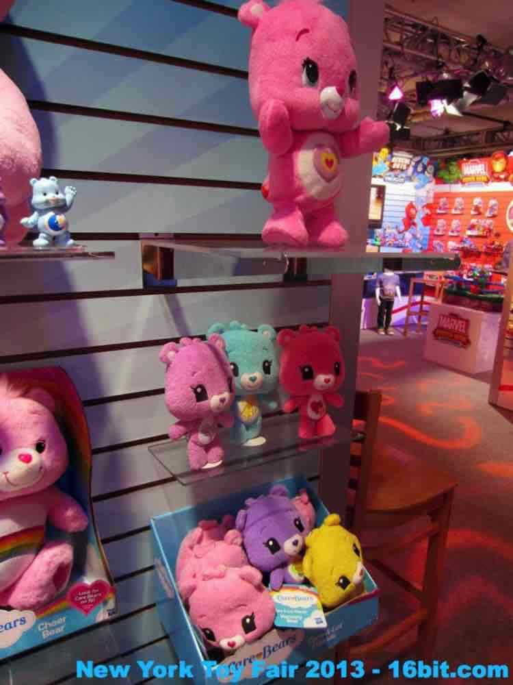 16bit Com Toy Fair Coverage Of Hasbro Care Bears Plush