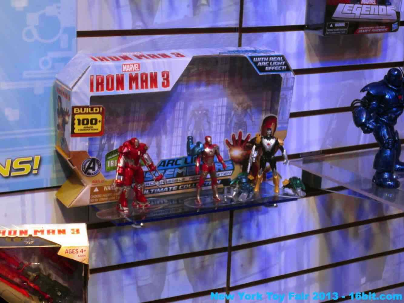 16bit Com Toy Fair Coverage Of Hasbro Iron Man Action