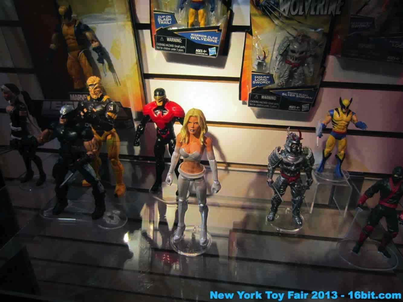 16bit Com Toy Fair Coverage Of Hasbro Wolverine Action