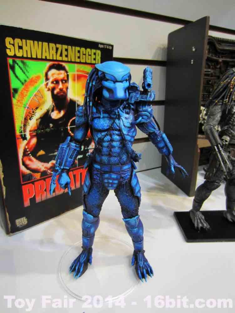 16bitcom toy fair coverage of neca predator from adam pawlus