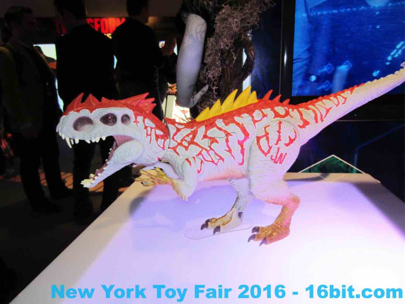 16bit Toy Fair Coverage of Hasbro Jurassic World Toys from
