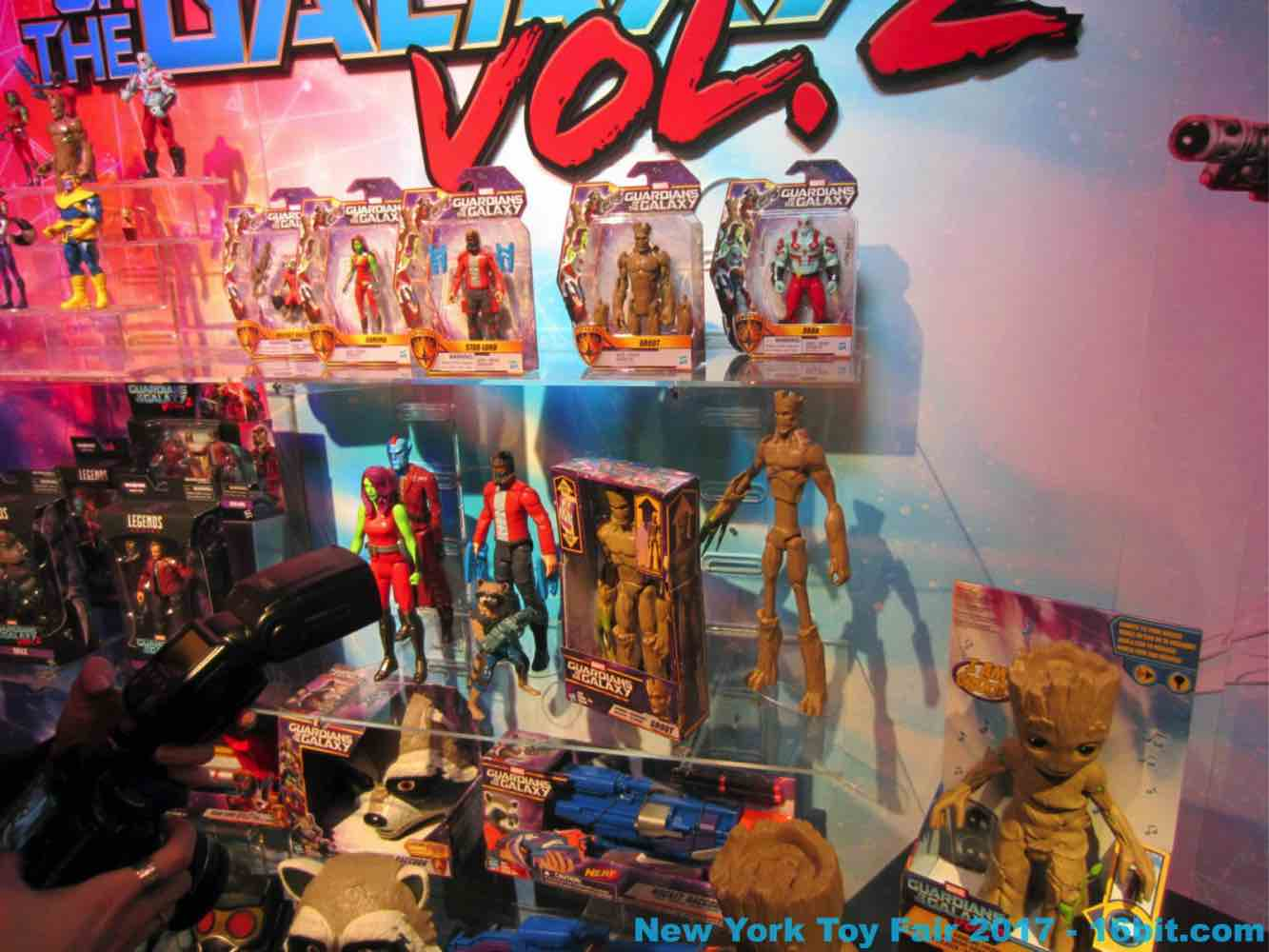 16bit Com Toy Fair Coverage Of Hasbro Marvel Toys From Adam Pawlus