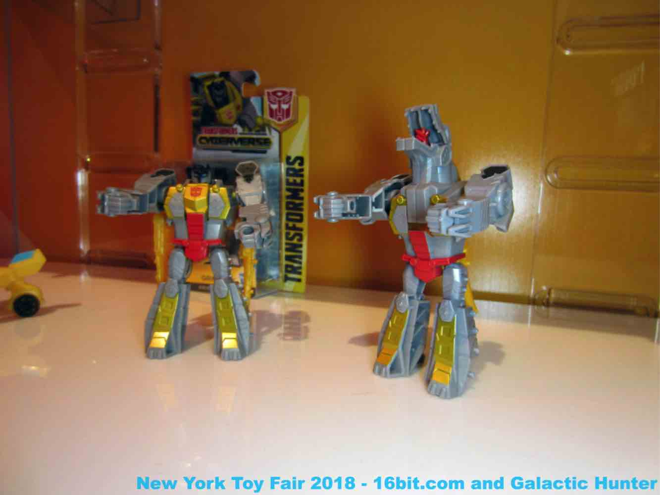 16bit Com Toy Fair Coverage Of Hasbro Transformers