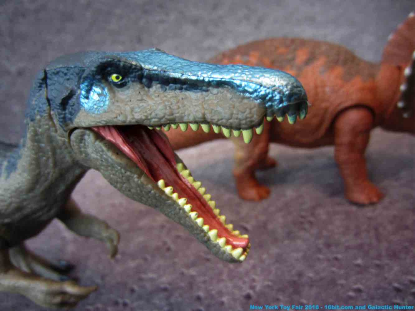 16bit Com Toy Fair Coverage Of Mattel Jurassic World