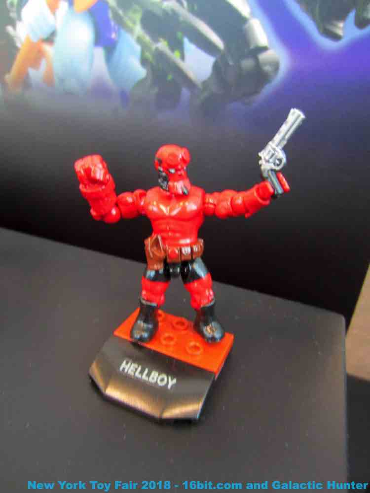 16bit Com Toy Fair Coverage Of Mattel Mega Construx Toys